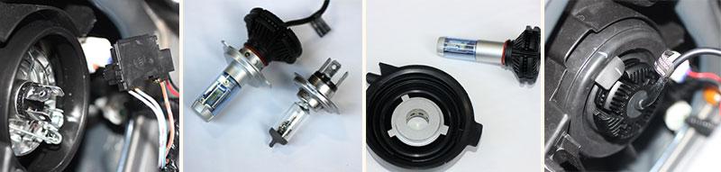 LEDバルブの交換手順